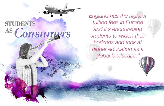 'Students as consumers' by Education journalist Sean Coughlan