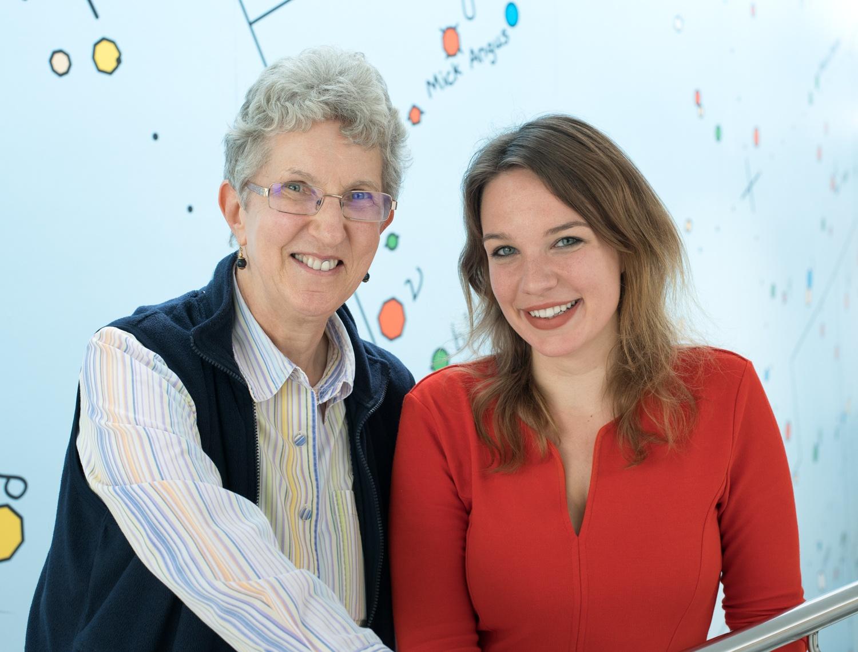 Picture of Carolin Debray & Helen Spencer-Oatey